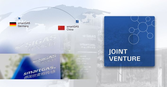 smartGAS gründet Joint Venture in China